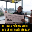Bill Gates và bài học sống đẹp từ một người bán báo